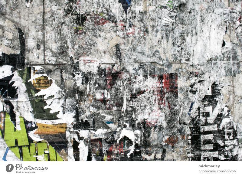 trash deluxe Wall (building) Gray Gray scale value Trash Art Culture Radio (broadcasting) Trashy torn Crack & Rip & Tear graffiti