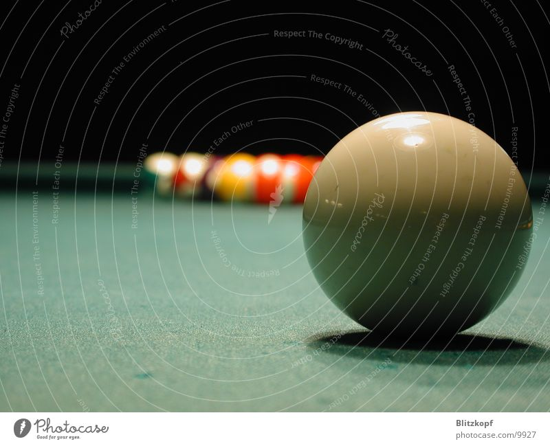 Table Ball Sphere Depth of field Pool (game)