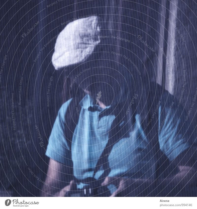 Human being Adults Masculine To hold on Cloth Net Camera Cap Hat Testing & Control Covers (Construction) Hidden Screening Peaked cap
