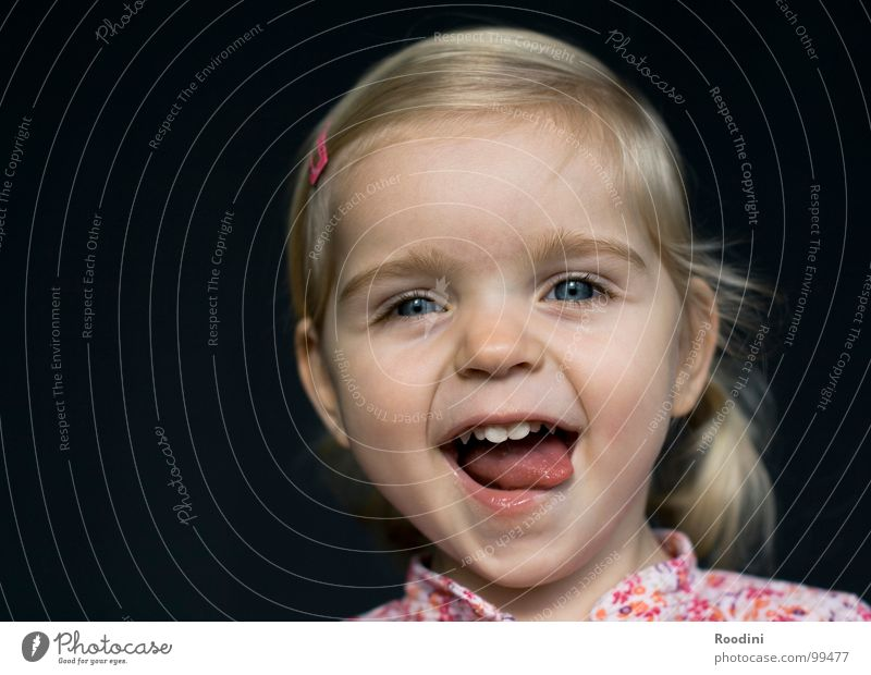 Child Girl Joy Face Eyes Boy (child) Hair and hairstyles Small Laughter Funny Mouth Nose Happiness Sweet Cute Teeth