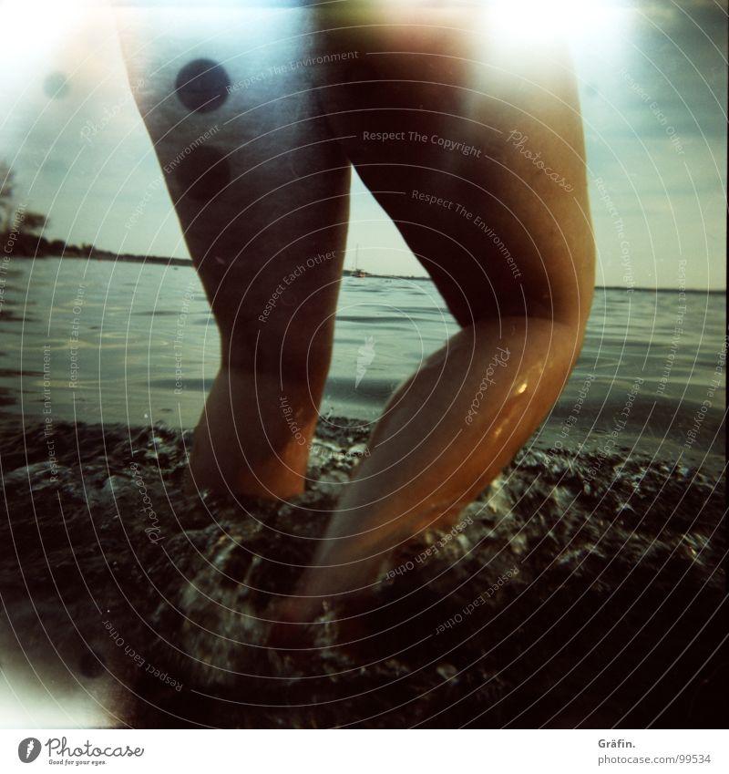 Sky Summer Water Sun Legs Swimming & Bathing Bright Waves Walking Wet Broken Bathroom Running Inject Accident Hannover