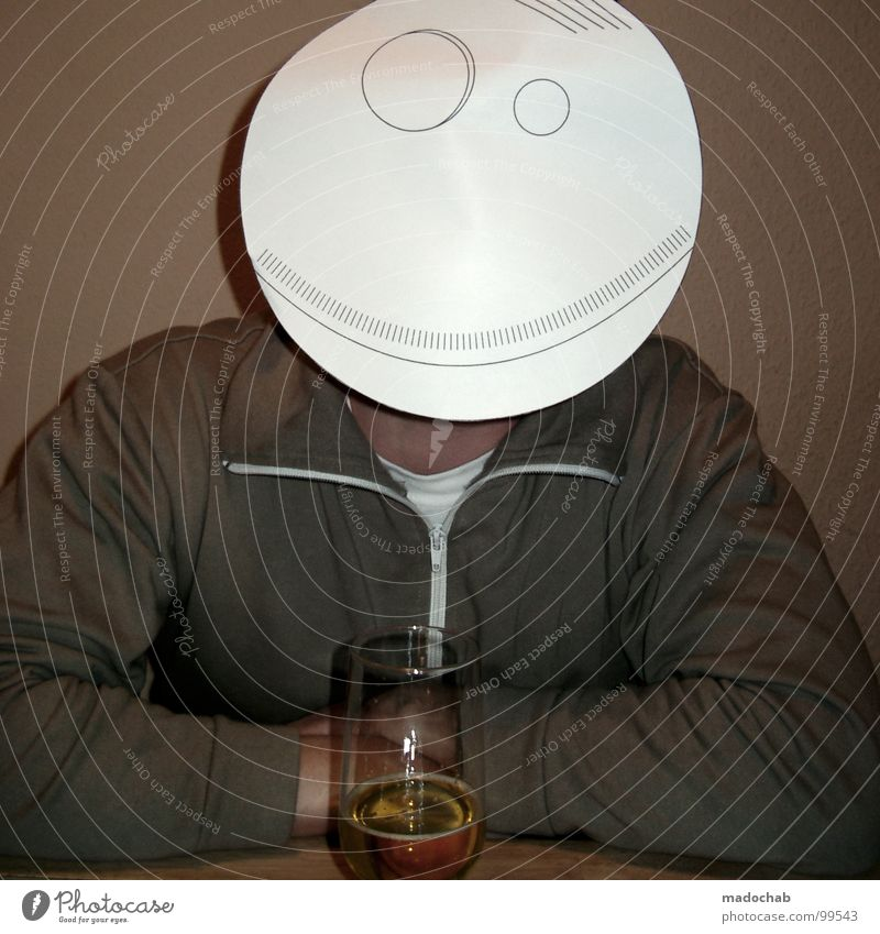 Man Sadness Glass Sit Multiple Dangerous Many Search Drinking Level Beer Mask Bar Gastronomy Decline Hide