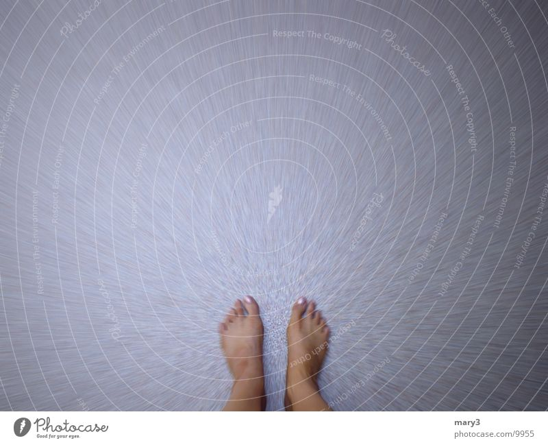 stand Floor covering Calm Human being Feet Concentrate Movement Barefoot