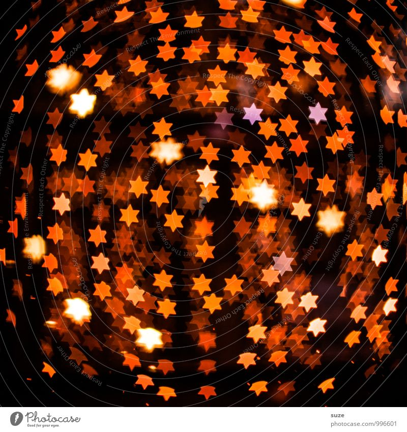Christmas & Advent Dark Emotions Lighting Style Small Background picture Feasts & Celebrations Exceptional Moody Party Lifestyle Orange Design Decoration