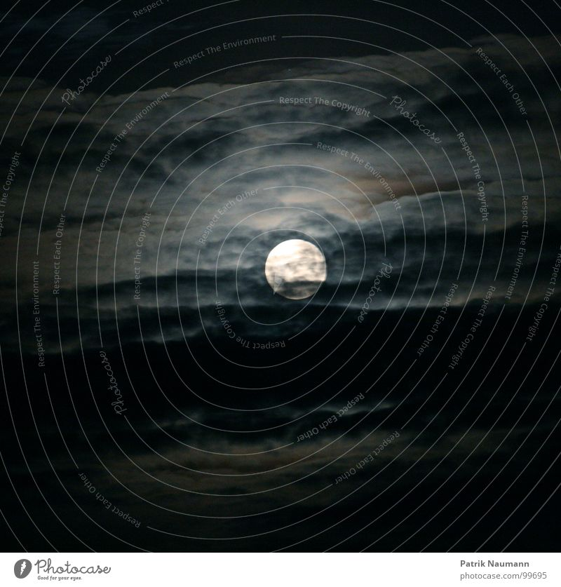 Sky Black Clouds Dark Dream Bright Lighting Fear Electricity Dangerous Threat Creepy Night Moon Ghosts & Spectres