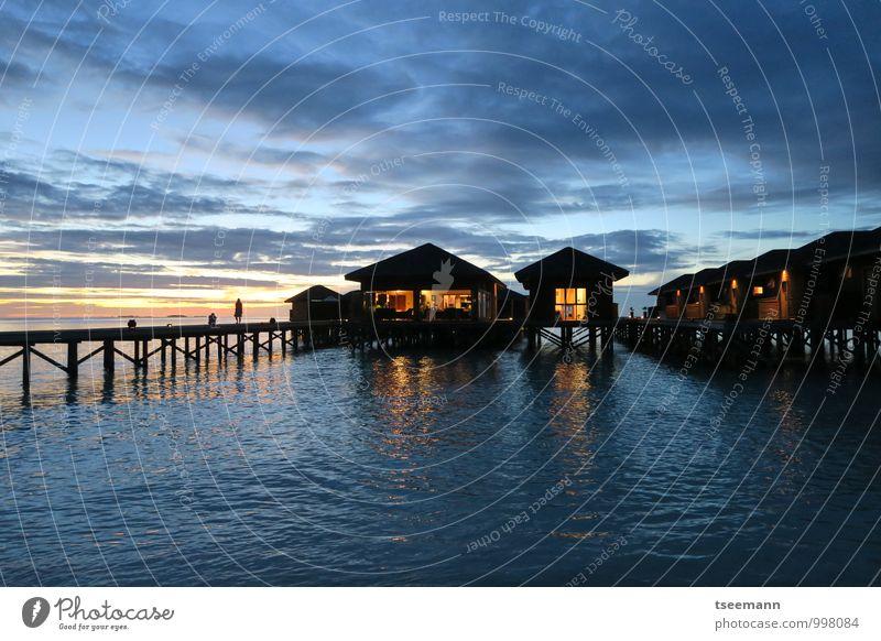 Vacation & Travel Relaxation Landscape Coast Building Contentment Tourism Joie de vivre (Vitality) Hut