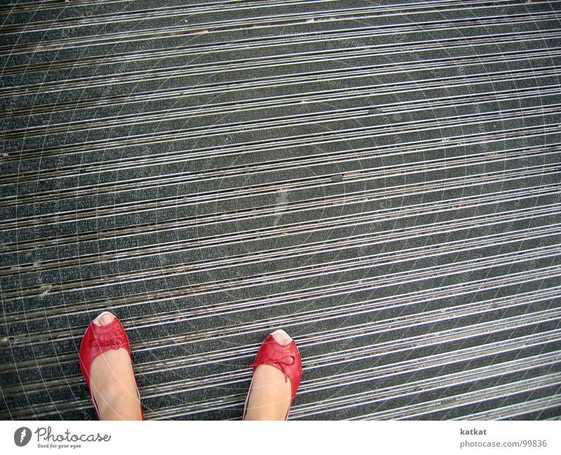 love red peeptoes Red Footwear Floor covering Toes Barefoot Carpet Summer Feet Ballerina