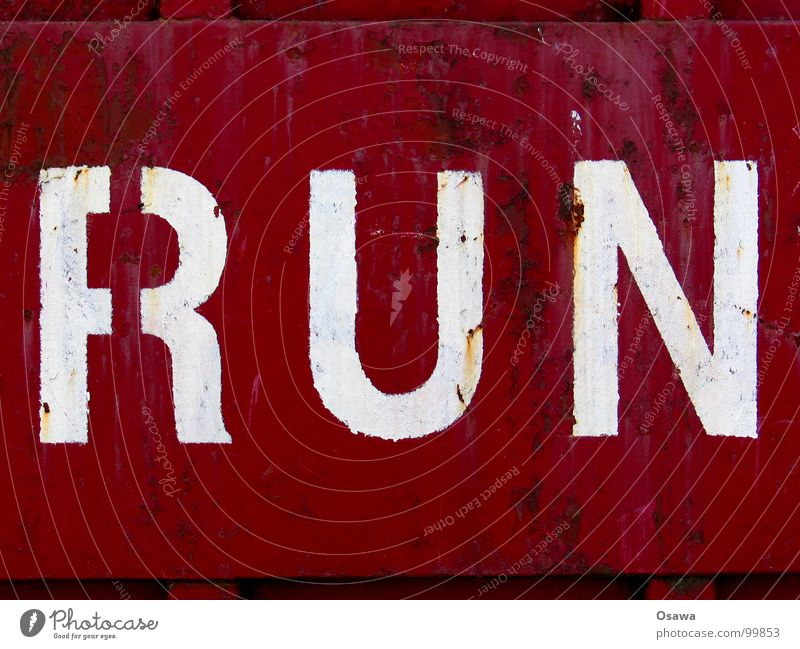run Red Brown Violet Steel Wall (building) Scratch mark Rust Communication Structures and shapes Old coat of paint Anticorrosion paint Letters (alphabet)