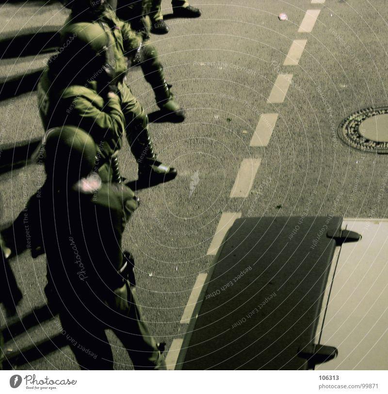 Calm Street Wait Multiple Safety Argument Force Testing & Control Police Officer Nerviness Helmet Police Force Demonstration Deployment Civil servant