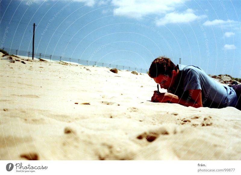 Ocean Summer Beach Vacation & Travel Coast Write Portugal Atlantic Ocean Sandy beach