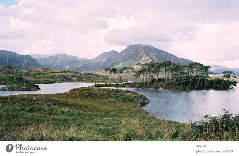 Nature Water Beautiful Summer Calm Loneliness Colour Relaxation Grass Mountain Lake Landscape Romance Peace Serene Peak