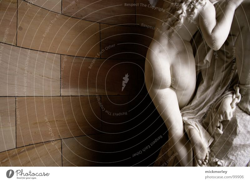 White Naked Wall (building) Stone Feet Legs Architecture Back Circle Modern Hind quarters Long Concert Statue Stage play Nude photography
