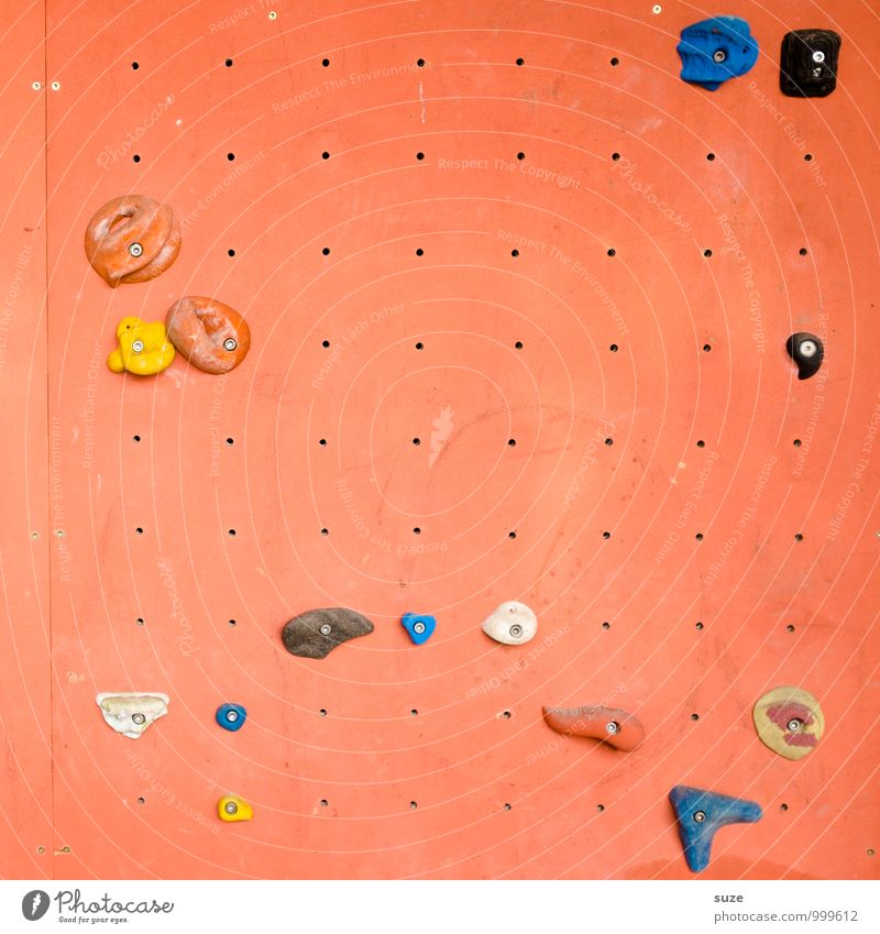 Joy Wall (building) Sports Lifestyle Orange Leisure and hobbies Authentic Uniqueness Fitness Plastic Climbing Sports Training Effort Mountaineering Vertical