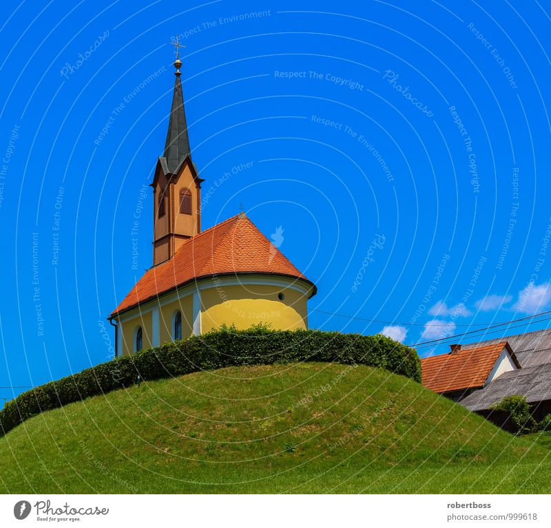 Austrian Church Vacation & Travel Sky Europe Village Dome Manmade structures Building Architecture Tourist Attraction Air Traffic Control Tower