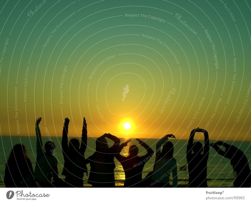 Hand Sun North Sea Magic Celestial bodies and the universe