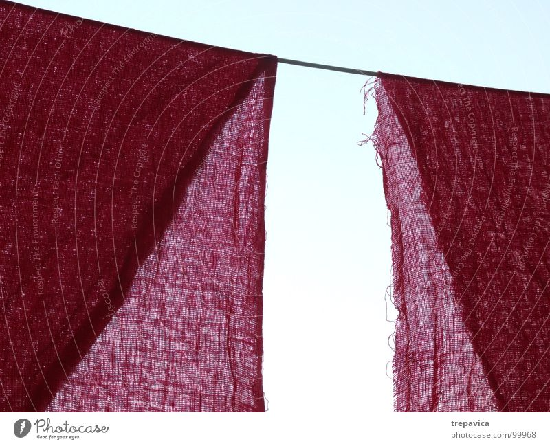 Sky Blue Colour 2 Pink Background picture Rope Net Cloth Easy Transparent Material Curtain Sewing thread Textiles Dry