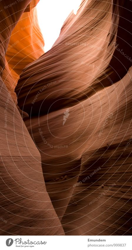 Antelope Canyon II Environment Nature Desert Esthetic Exotic Orange Red West USA Americas Arizona South West Round Organic Flow Soft bubble undulating